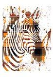 Flannel Safari 1 Art Print