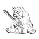 Rockin Bear Art Print