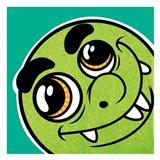 Goofy Monster 1 Art Print