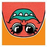 Goofy Monster 2 Art Print