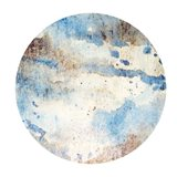 Corroded Views 1 Circle Art Print