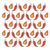 Fire Peppers Art Print