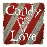 Candy Love Art Print