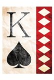 King Of Spades Art Print