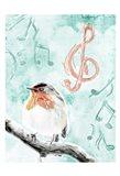 Music Bird Mate Art Print