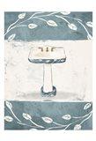 Floral Sink Art Print