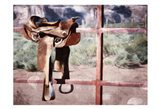 Saddle Up Art Print