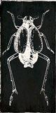 Bug Life Two Black Art Print