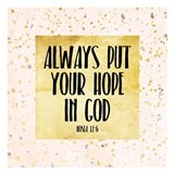 Hope In God Art Print