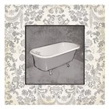 Grey Bath Art Print
