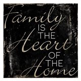 Family Heart Home Art Print