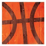 Kids Sports Basketball Art Print
