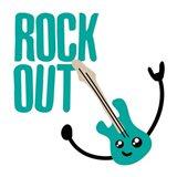 Rock Out Art Print