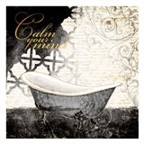 Calm Your Mind Bath Art Print