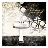 Relax Yourself Sink Art Print