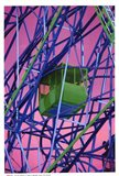 Cable Car - technicolor Art Print