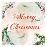Christmas Wall Post 1 Art Print