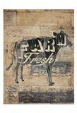 Farm Fresh Cow Art Print