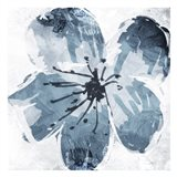 Sketched Cool Flower Mate Art Print