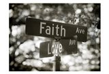 Faith and Love Art Print