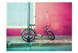 Lonely Trike Art Print