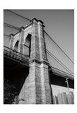 Beneath Brooklyn Bridge 1 Art Print