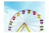Summer Ferris Wheel 1 Art Print