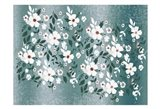 Scattered Blossoms Art Print