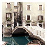 Teal Venice Art Print