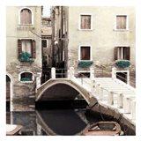 Teal Venice II Art Print