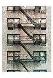 City Escapes 3 Art Print