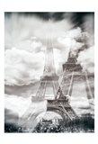 Eiffel 6 Art Print