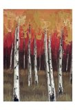 Forest Red 1 Art Print