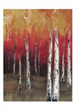 Forest Red 2 Art Print