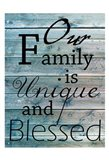 Blessed Family Art Print