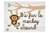 Monkey Around 2 Art Print