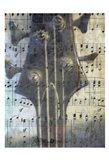 Bass Guitar Art Print