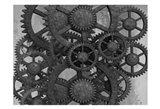 Gears In Motion Art Print