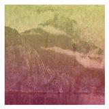 Mountain Lights A Art Print
