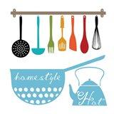 Kitchen Helper Art Print