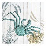 Salt Water Blue 2 Art Print
