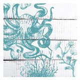 Blue Under 1 Art Print