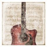 Acoustic Art Print