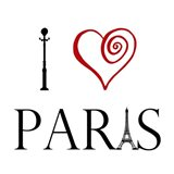 Heart For Paris Art Print