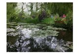 Monet Pond 2 Art Print
