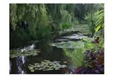 Giverny Pond Art Print
