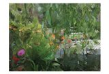 Monets Pond At Giverny Art Print