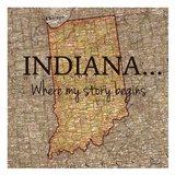 Story Indiana Art Print