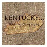 Story Kentucky Art Print