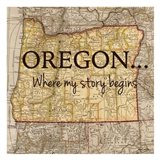 Story Oregon Art Print